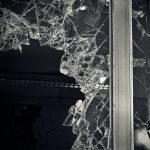 Shattered double glazed unit