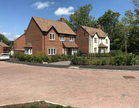 Whole house of windows National House builder Wiltshire